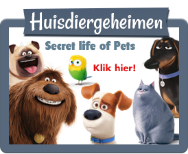 Huisdiergeheimen Webshop The Secret life of pets.