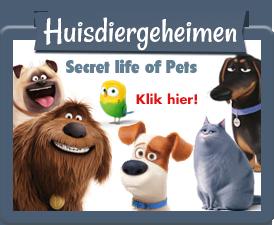 Huisdiergeheimen Webshop The Secret life of pets.
