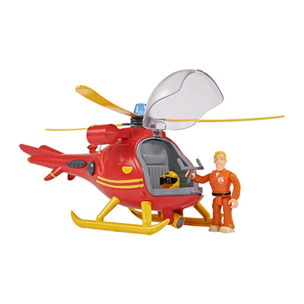 Brandweerman Sam Helicopter + Speelfiguur