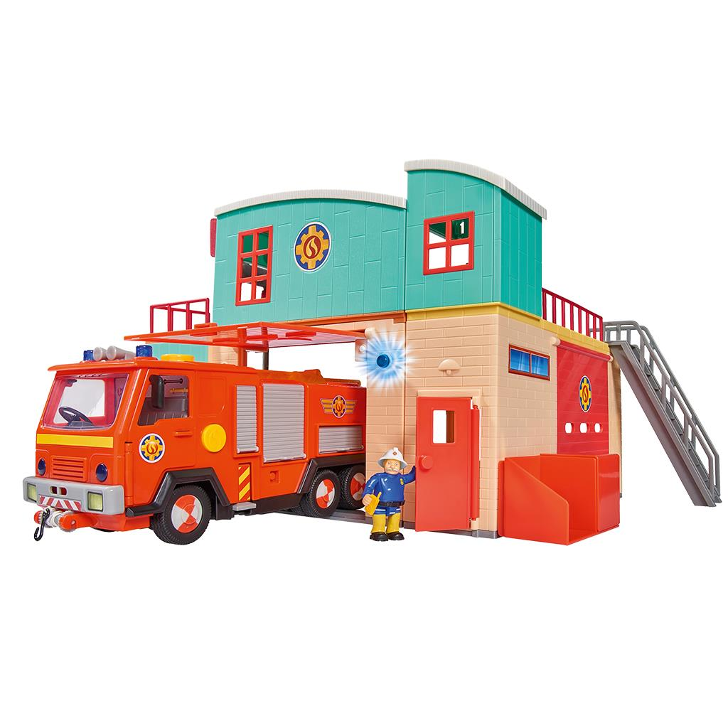 Brandweerman Sam Kazerne Speelset