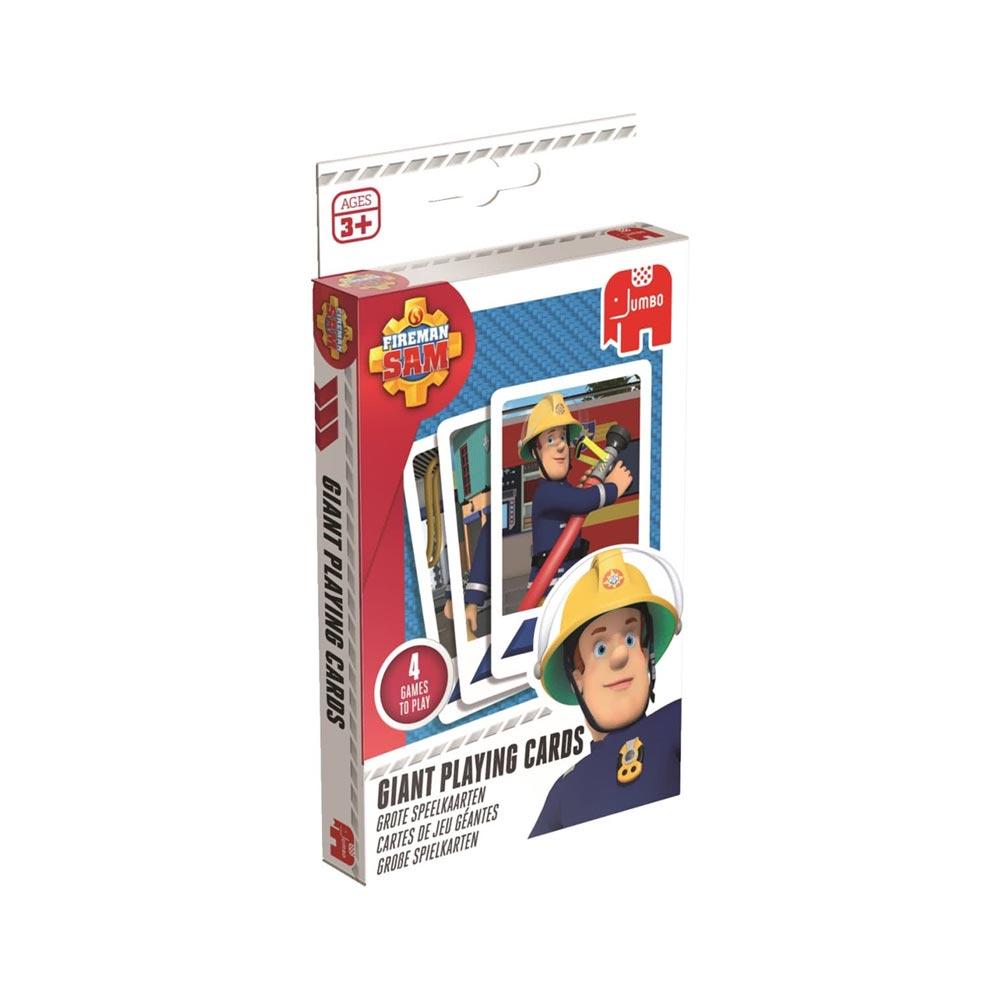 Brandweerman Sam grote speelkaarten